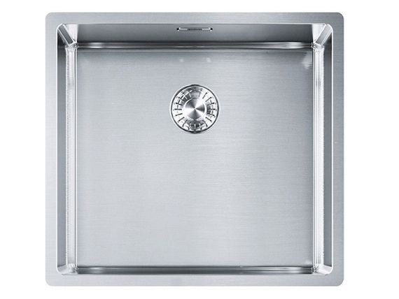Franke Box BXX 110-45 Edelstahlspüle glatt Unterbauspüle Spül-Becken Küchenspüle  – Bild 1