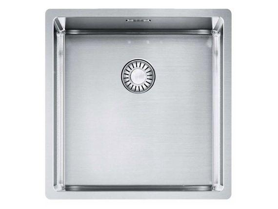 Franke Box BXX 110-40 Edelstahl-Spüle glatt Küchenspüle Unterbauspüle US 50cm  – Bild 1