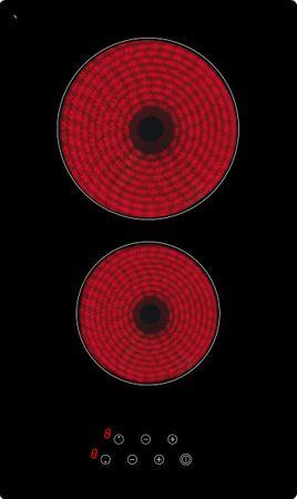 Highlight-Kochfeld KB-K3050-2RL, Schott-Ceran, 30 cm, rahmenlos – Bild 1