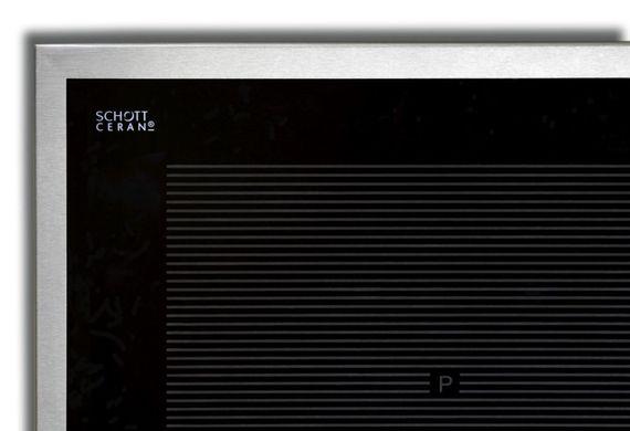 Induktions-Kochfeld KB-IK8050-6ED-Flex, Schott-Ceran, 80 cm, Edelstahlrahmen – Bild 1