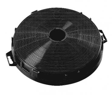 Pyramis Aktivkohlefilter rund  für Flachschirmhaube Turbo 60