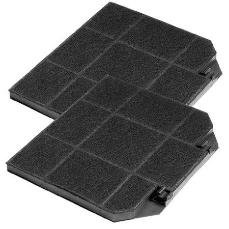 Sparset: 2 Stück Kohlefilter für Franke wie 1120016756 und Aktivkohlefilter Abzugshauben