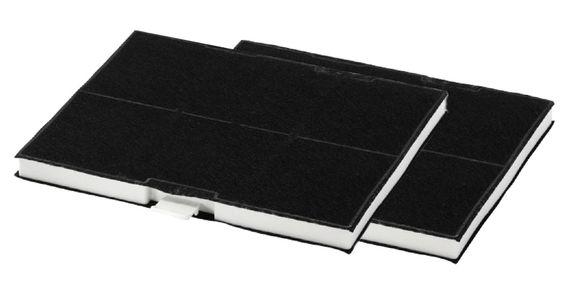Sparset 2x Ersatz-Aktivkohlefilter passend für Siemens LZ53451 Bosch Constructa Neff Junker - 705432, 00703606