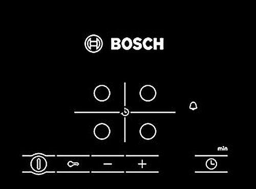 Bosch PKE645B17 Einbaukochfeld 60cm autark - Ceranfeld Schott Kochfeld mit Edelstahlrahmen Glaskeramik Touch – Bild 5