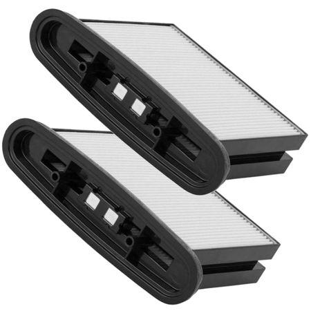 2x Feinstaubfilter Filterkassette für Bosch GAS25 / GAS50 - PES (auswaschbar) - Ersatz-Filter für Bosch Zubehör 2607432015 – Bild 1