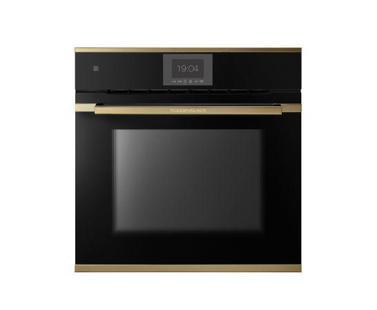 Küppersbusch Pyro-Backofen schwarz mit Design-Kit Gold BP 6550.0 S4 – Bild 1