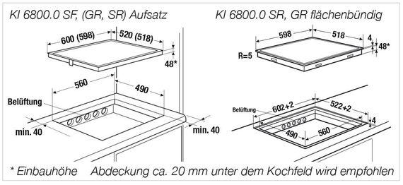 Küppersbusch Elektro-Kochfläche KE 6330.0 SR rahmenlos dialControl  60 cm – Bild 2