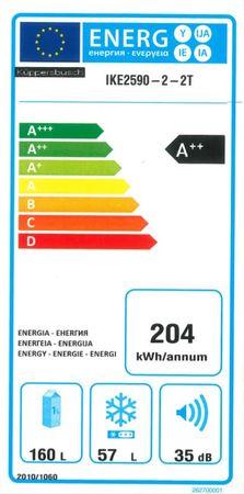 Küppersbusch Einbau-Kühl- und -Gefriergerät, 144 cm (Höhe);  A++ – Bild 3
