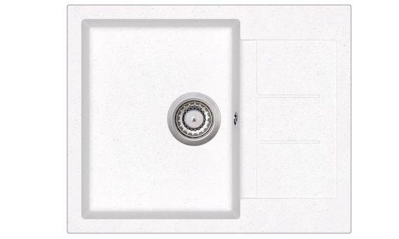 Granitspüle Victory W620.50 weiß 62x50cm Küchenspüle Einbauspüle ab 45er Schrank – Bild 1