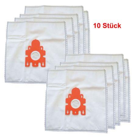 10er Pack Keenberk Staubsauger-Beutel günstiger Ersatz für Miele Typ F / J / M  (10 Filter-Beutel + 2 Micro Filter Vlies)  – Bild 1