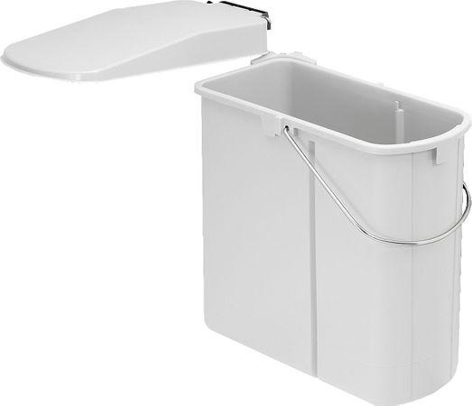 Wesco flach Einbau Abfallsammler Mülltrenner Abfalleimer Abfallsystem Küche 19L – Bild 1