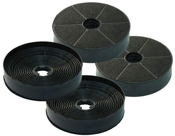 Sparset 4x Kohlefilter passend Abzugshauben von Lenoxx K450 und K650 – Bild 1