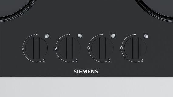 Siemens EN6B6PB10 - autarkes Gaskochfeld 60 cm mit integrierter Steuerung - gehärtetes Glas - schwarz – Bild 3