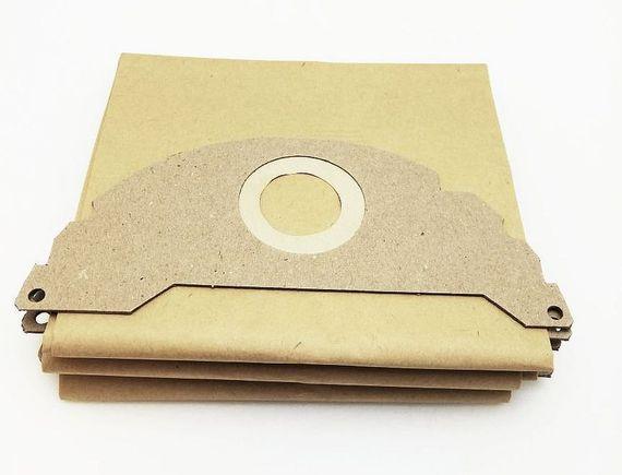 5 Stk. Staubsaugerbeutel - Papier-Tüten für verschiedene Sauger von Kärcher – Bild 1