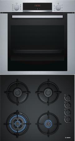 Bosch Backofen-Set HBA3140S0 + POH6B6B10 60cm – Bild 1