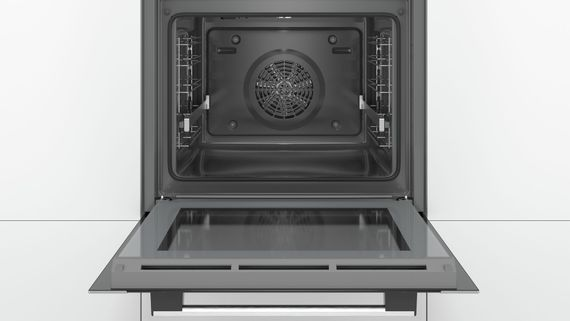 Bosch Herdset autark Backofen-Set HBA3140S0 mit Gas-Kochfeld PPP6A6B90 - 60cm – Bild 5