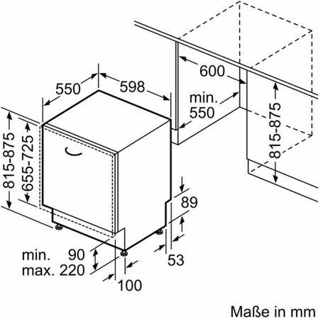 Bosch Geschirrspüler SMV24AX00E Vollintegrierbar 60 cm – Bild 3