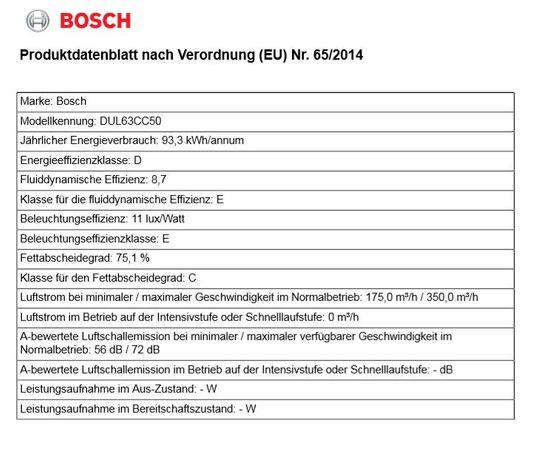 Bosch DUL63CC50 Edelstahl Abzugshaube 60cm Unterbau-Dunstabzugshaube Serie 4 NEU – Bild 7