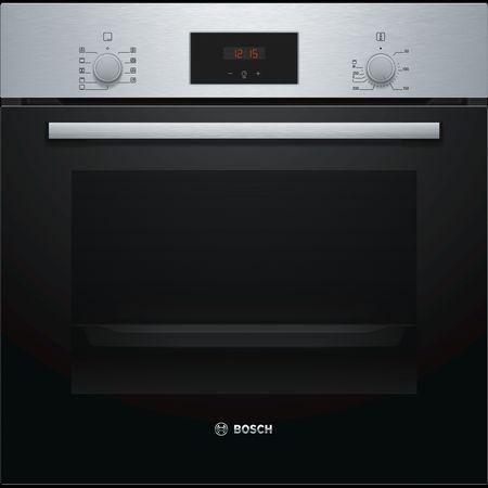 Bosch Herdset Autark Gasherd Einbau Backofen Heißluft + Gas Kochfeld auf Glas 60cm – Bild 2