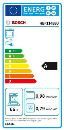 Bosch Herdset Autark Gasherd Einbau Backofen Heißluft + Gas Kochfeld auf Glas 60cm – Bild 5