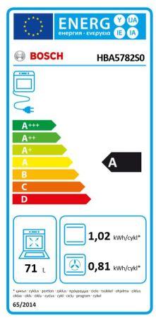 Bosch Backofen HBA5782S0 mit Gas-Kochfeld PPP6A6B90 autark – Bild 5