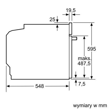 Bosch Backofen HBA5782S0 mit Gas-Kochfeld PPP6A6B90 autark – Bild 8