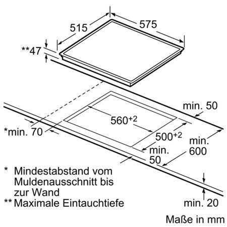 Siemens Kochfeld ET645FFN1E Ceranfeld SCHOTT CERAN® autark Einbau Kochstelle 60cm – Bild 2
