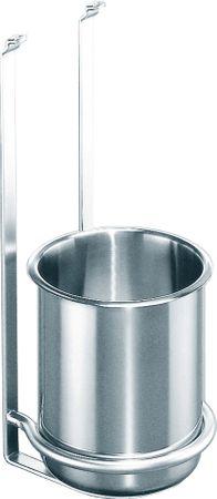 Köcherhalter LINERO 2000 inkl. 1 Edelstahlköcher, Edelstahlfinish – Bild 1