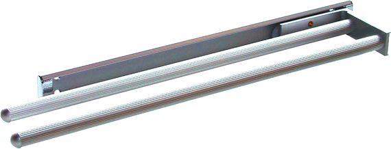 Handtuchauszug B: 93 mm L: 325 mm zweiarmig Silber
