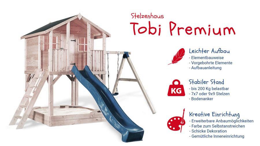 Stelzenhaus Tobi Premium
