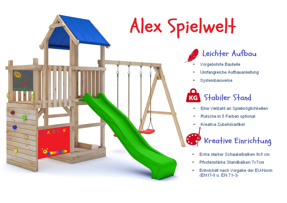 Spielturm Alex Premium