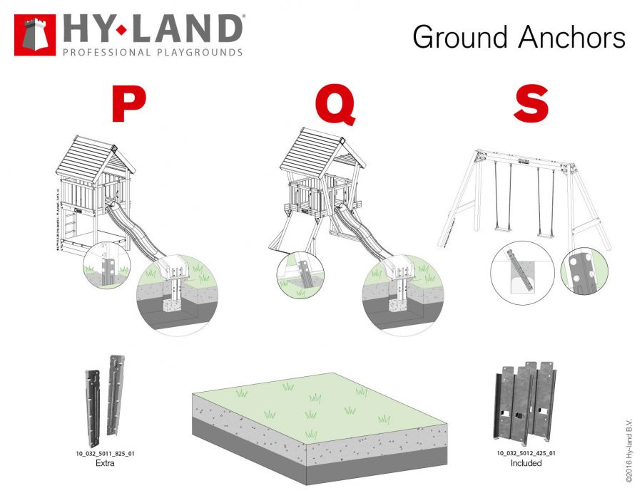Montage Anker Set Uni – Bild 2