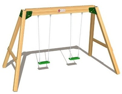 Hy-Land Classic Swing Set – Bild 1