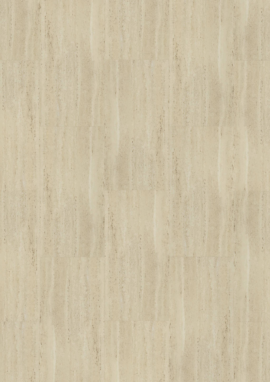 Joka - Vinylboden DESIGN 555 Dryback Klebevinyl Travertine 609 x 304 x 2,5mm