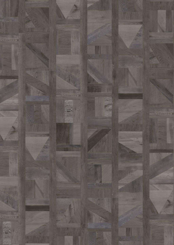 Joka - Vinylboden DESIGN 555 Dryback Klebevinyl Dark Tetris Wood 1517 x 228 x 2,5mm