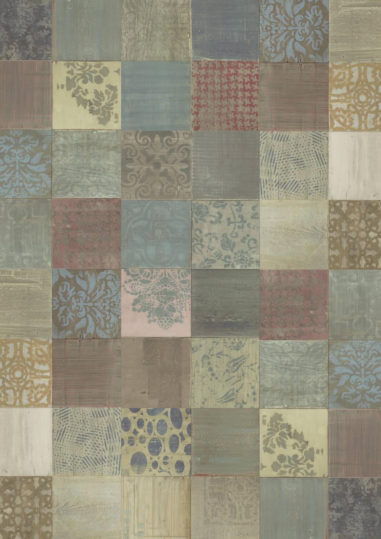 Joka - Vinylboden DESIGN 555 Dryback Klebevinyl Mixed Ornament 914 x 457 x 2,5mm