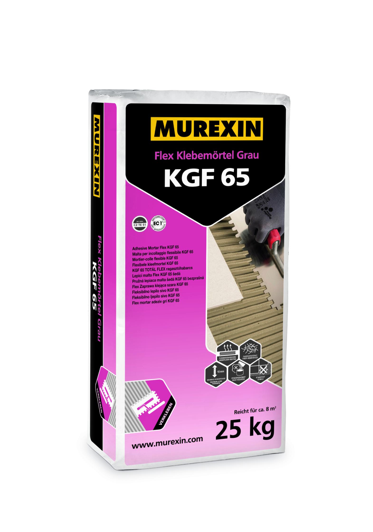 Murexin - Flex Klebemörtel Grau KGF 65 25kg