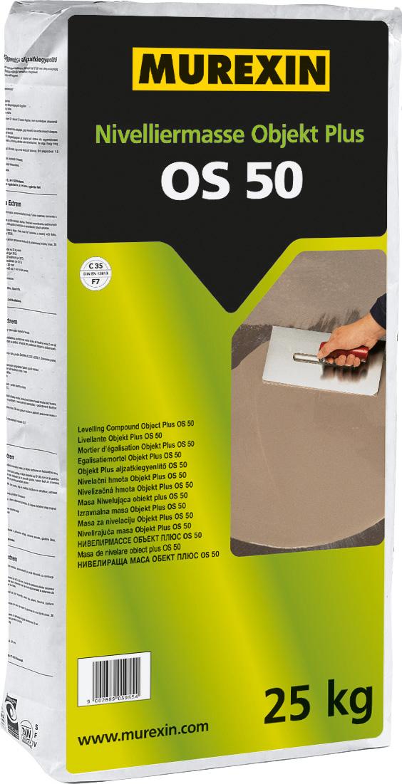 Murexin - Nivelliermasse Objekt Plus OS 50 Bodenausgleichmasse 25kg