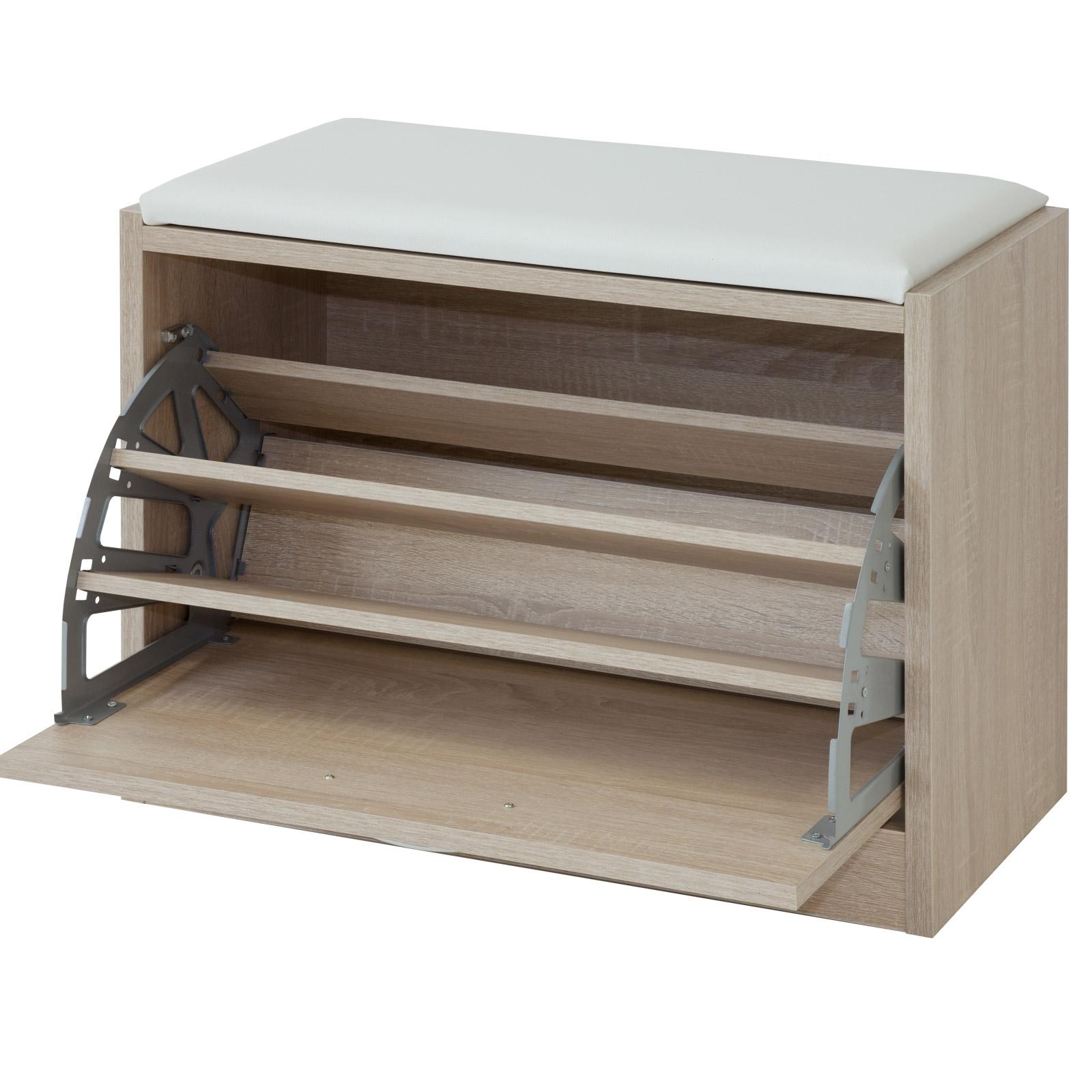albatros schuhschrank mit sitzkissen tom schuhkipper bank garderoben. Black Bedroom Furniture Sets. Home Design Ideas