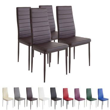BS Esszimmerstühle MILANO - Farbe und Stückzahl wählbar – Bild 4