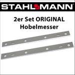 Hobelmesser für Stahlmann Hobelmaschine, 6 Loch, 210 x 20 mm  001