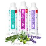 Komplett-Set - organicum Shampoo, Spülung und Haarkur 002