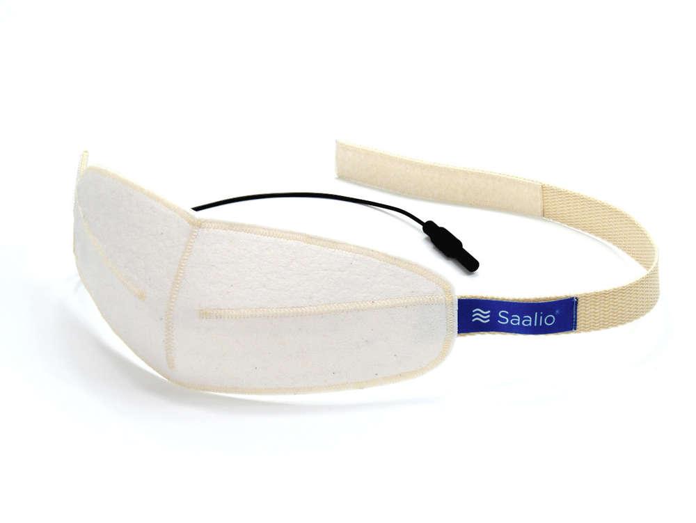 Saalio® Iontophorese Elektrode für die Stirn mit Graphitfasern