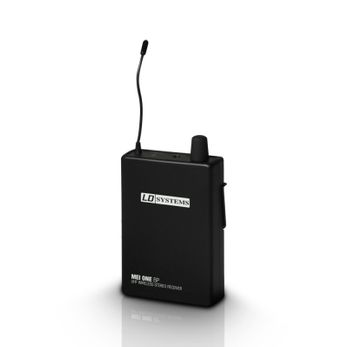 LD Systems MEI ONE 1 BPR - Empfänger für LD MEI ONE 1 In-Ear Monitoring System drahtlos 863,700 MHz