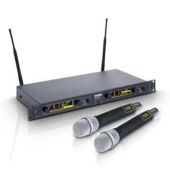 LD Systems WIN 42 HHC 2 - Funkmikrofon System mit 2 x Handmikrofon kondensator
