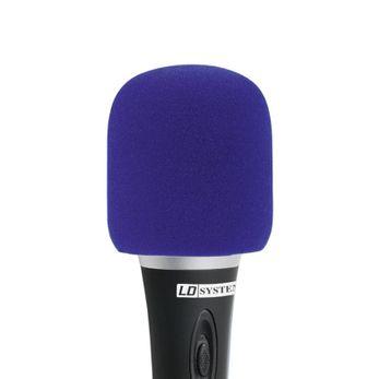 LD Systems D 913 BLU - Windschutz für Mikrofone blau
