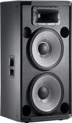 JBL STX 825 Doppel 15er PA-Lautsprecher für den Touring-Einsatz und Festinstallation 136dB