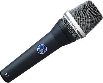 AKG D7 S Dynamisches Gesangsmikrofon mit Supernieren-Charakteristik und Schalter