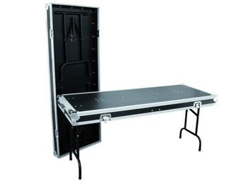 2 Tische in Case-Ausführung (162x62 cm)