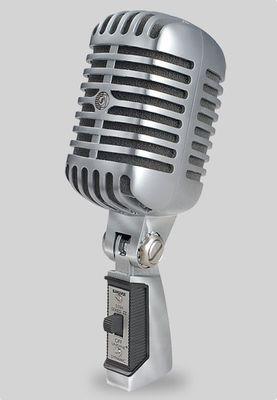 "Shure 55SH, Dynamisches ""Elvis-Mikrofon"""
